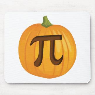 Halloween Pumpkin Pie Pi Mouse Pad