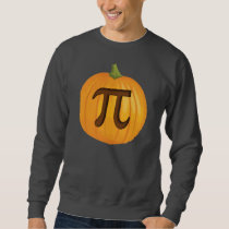 Halloween Pumpkin Pie Pi Sweatshirt