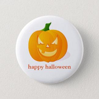 Halloween Pumpkin Pinback Button