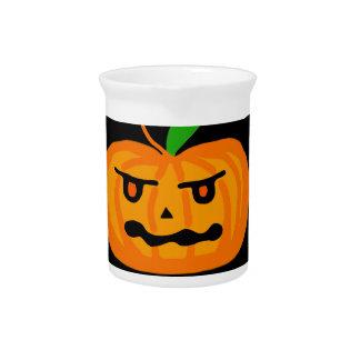 Halloween pumpkin pitcher