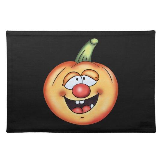 Halloween Pumpkin placemat