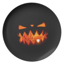 Halloween Pumpkin Plate