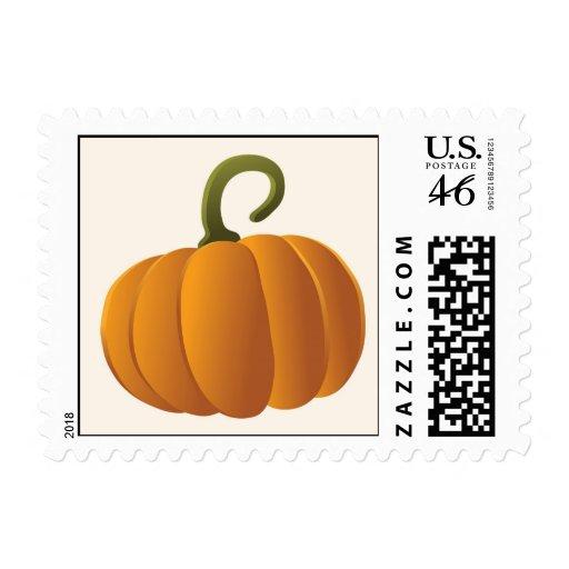 Halloween Pumpkin Postage Stamps