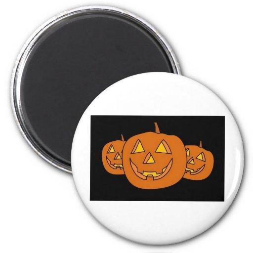 Halloween Pumpkin Refrigerator Magnet