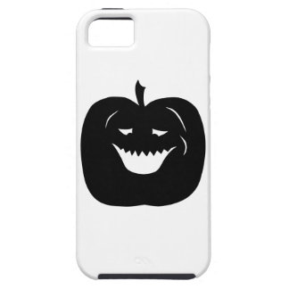 Halloween Pumpkin Silhouette. Black. iPhone 5 Case