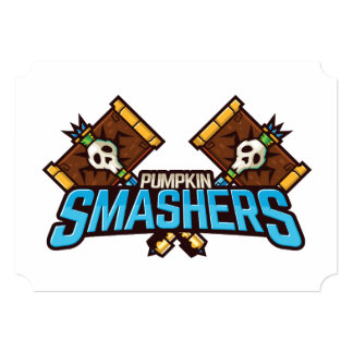 Halloween Pumpkin Smashers Squad Card