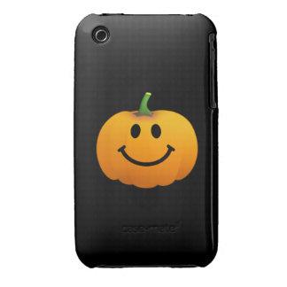 Halloween Pumpkin Smiley face iPhone 3 Case-Mate Cases