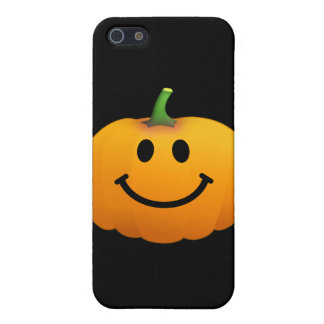Halloween Pumpkin Smiley face Cover For iPhone 5