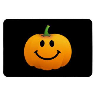 Halloween Pumpkin Smiley face Vinyl Magnet