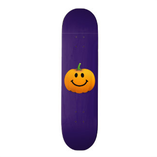 Halloween Pumpkin Smiley face Skate Boards