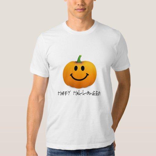 Halloween Pumpkin Smiley face T Shirts