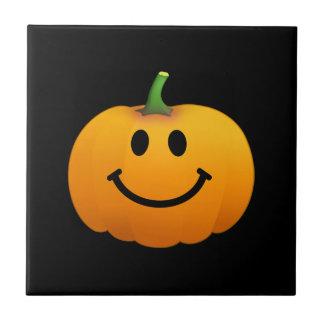 Halloween Pumpkin Smiley face Tiles