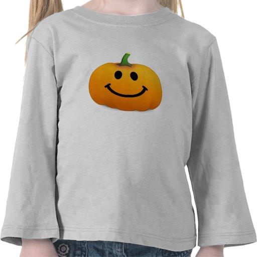 Halloween Pumpkin Smiley face T-shirts