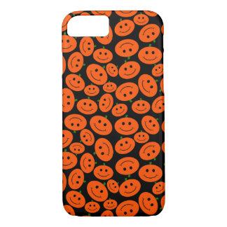 Halloween Pumpkin Smiley iPhone 8/7 Case
