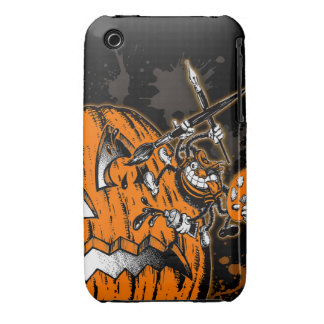 Halloween Pumpkin Spider Artist iPhone 3 Cover