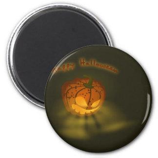 Halloween Pumpkin Spooky Atmosphere Magnet
