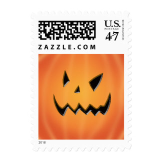 Halloween Pumpkin Stamp