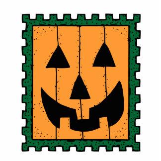 Halloween Pumpkin Stamp Photo Sculptures