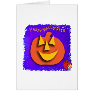 Halloween Pumpkin Stationery Note Card