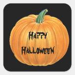 Halloween Pumpkin Sticker
