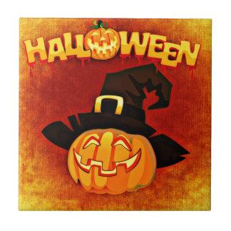 Halloween Pumpkin Tile