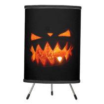 Halloween Pumpkin Tripod Lamp
