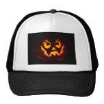 Halloween Pumpkin Trucker Hats