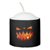Halloween Pumpkin Votive Candle