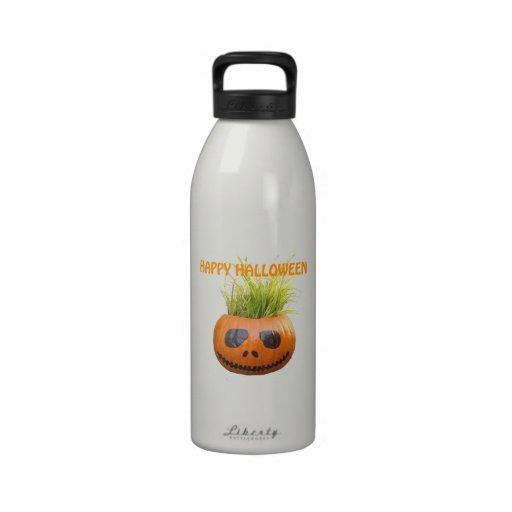 Halloween Pumpkin Drinking Bottles