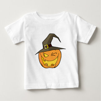 Halloween Pumpkin Winking A Witch Hat Shirts