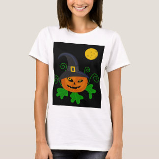 Halloween pumpkin - witch hat T-Shirt