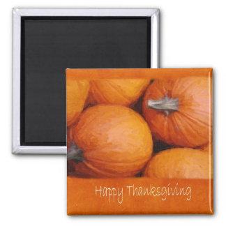 Halloween  Pumpkins 3 - Happy Thanksgiving Magnet