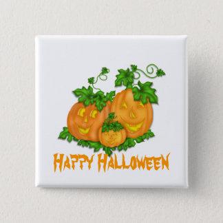 Halloween Pumpkins Button
