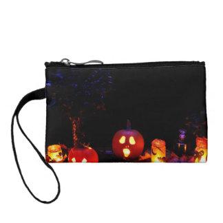 Halloween pumpkins coin purse