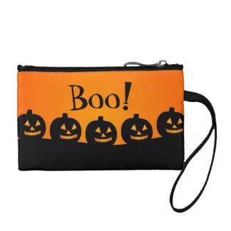Halloween Pumpkins Coin Wallet