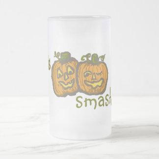 Halloween Pumpkins get smashed! Coffee Mugs