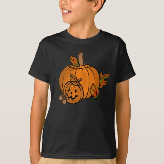 Halloween Pumpkins Holiday kids t-shirt