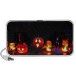 Halloween pumpkins iPod speakers