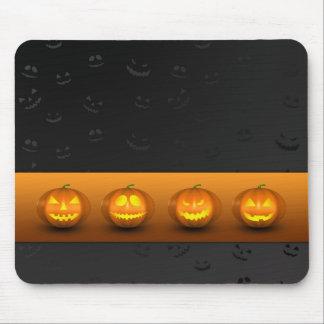 Halloween Pumpkins Jack-o-Lantern - Mousepad