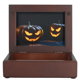 Halloween Pumpkins Memory Box