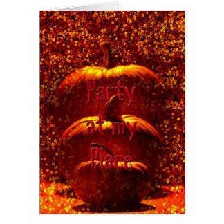 Halloween Pumpkins Party Invitation