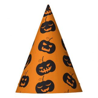 Halloween pumpkins pattern party hat