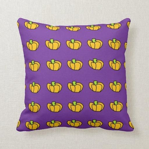 Halloween Pumpkins Pattern Pillows