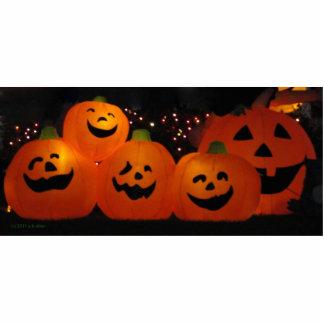 Halloween Pumpkins photo scuplture Acrylic Cut Outs