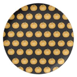 Halloween Pumpkins Plate