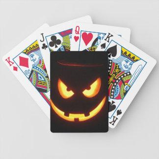 Halloween Pumpkins Poker Deck