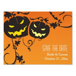 Halloween Save The Dates Invitations Announcements Zazzle