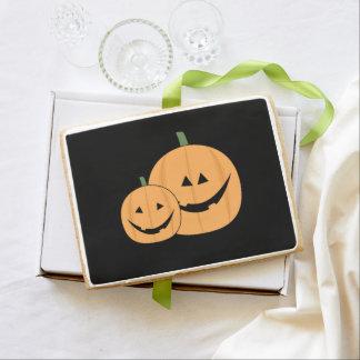 Halloween Pumpkins Shortbread Cookie