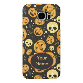 Halloween Pumpkins & Skulls Samsung Galaxy S6 Cases