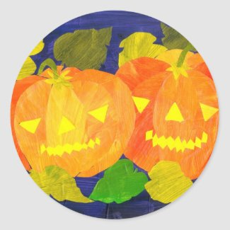 Halloween Pumpkins Stickers sticker